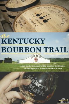 Kentucky Bourbon Trail: a guide to all nine bourbon distilleries on the trail | a fun, unique trip for bourbon lovers and newbies alike!