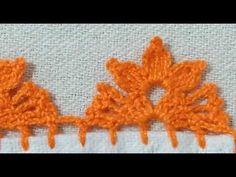 Crochet Blocks, Crochet Borders, Crochet Lace, Crochet Stitches, Crochet Designs, Crochet Patterns, Saree Tassels Designs, Knitted Slippers, Crochet Videos