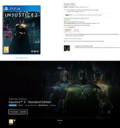 Injustice 2 Physical vs Digital Pre-Order Price Comparison (Console Gaming).