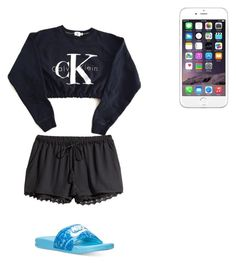 """""""Bae moved in❤️❤️"""" by poodawoodabug ❤ liked on Polyvore featuring H&M and NIKE"""