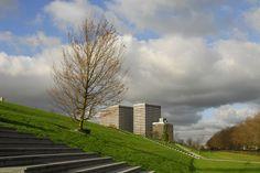Dakpark Rotterdam Roof Park - design Buro Sant en Co Landscape Architecture