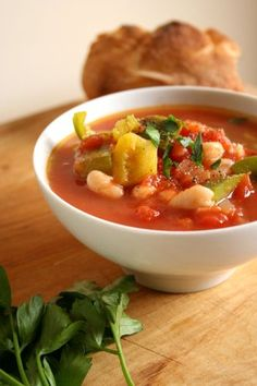 easy vegetarian chili, in 30 minutes!   #vegetarian #recipes #easy