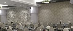 Panou 3D salon de evenimente Panciu Chandelier, Ceiling Lights, Lighting, Floral, Home Decor, Candelabra, Decoration Home, Room Decor, Chandeliers