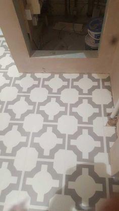 Neisha Crossland Luxury Vinyl tiles Harvey Maria, Amtico, Luxury Vinyl Tile, Vinyl Tiles, Flooring, Contemporary, Bathroom, Home Decor, Washroom