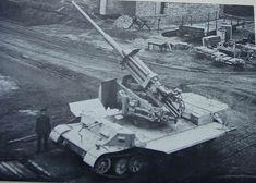 Versuchsflakwagen für 8,8 cm FlaK 41 L/75