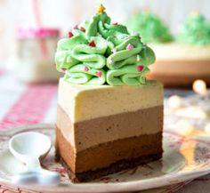Kolmen suklaan kakku Best Cake Flavours, Cake Flavors, A Food, Gingerbread, Recipies, Cheesecake, Pudding, Baking, Desserts