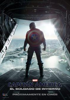 Póster de Capitán América 2: El soldado de invierno (Captain America: The Winter Soldier) - Estreno en cines 28 Marzo 2014