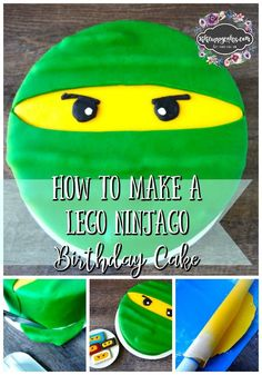 Does your kiddo love Lego Ninjago? Keep reading for an easy to follow step by step tutorial to make your own Lego Ninjago birthday cake.