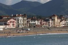 Loved this place when I was there. // St Jean de Luz, Pays Basque, France