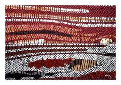 Cuivre, vide-poches mural en laine