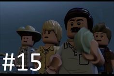 LEGO Jurassic World Game Level 15: The Bird Cage (Gameplay Walkthrough HD)