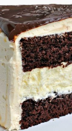 Salted Caramel Chocolate Cheesecake Cake Recipe ~ beautiful and delicious
