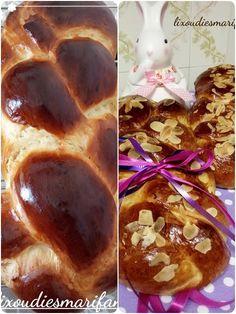ΤΣΟΥΡΕΚΙΑ ΜΕ ΜΕΛΙ ΤΗΣ ΜΑΡΙΦΑΝΗΣ ΧΩΡΙΣ ΖΑΧΑΡΗ ΓΕΜΑΤΑ ΙΝΕΣ   ΤΣΟΥΡΕΚΙΑ ΠΟΥ ΜΕΝΟΥΝ ΑΦΡΑΤΑ ΓΙΑ ΜΕΡΕΣ   ΤΣΟΥΡΕΚΙΑ ΣΑΝ ΖΑΧΑΡΟΠΛΑΣΤΕΙΟΥ French Toast, Sweets, Cooking, Breakfast, Desserts, Blog, Recipes, Trust, Skinny