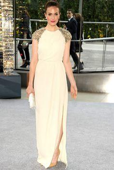 Mandy Moore in Lela Rose at CFDA Awards ~ Ladylike Chic