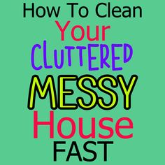 Cleaning hacks tips and tricks to clean your messy cluttered house FAST even if feeling overwhelmed! These organizing and decluttering ideas don't have you just organizing clutter - instead, DECLUTTER your clutter the fast and simple way Overwhelmed Mom, Feeling Overwhelmed, House Cleaning Checklist, Cleaning Schedules, Getting Organized At Home, Messy House, Bathroom Cleaning Hacks, Clutter Organization, Declutter Your Home