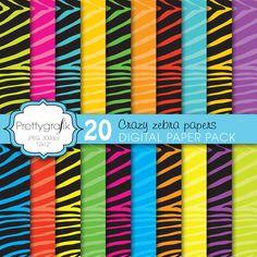 crazy zebra prettygrafik - Buscar con Google