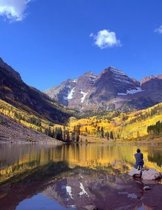 Maroon Bells,USA: Been here.. Hiked the trail around, 32 miles, 4 mtn passes, lots of elevation, beautiful views..