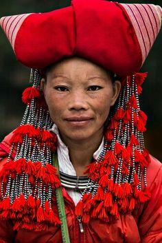 Red Dao minority in Sapa, Vietnam by Rehahn Photography .