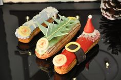 Christmas eclairs #pitchounbakery