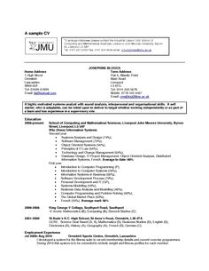 Blank Fill In Resume Templates  Resume Template