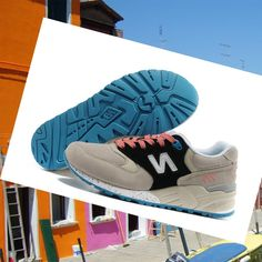 New Balance 999 Women Shoes grey/black/blue Buy Online HOT SALE! HOT PRICE!