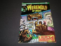 Vintage Werewolf comics Marvel Werewolf by Night 12 Marvel Comics 1973 by HeroesRealm 5.99 @https://www.etsy.com/shop/HeroesRealm