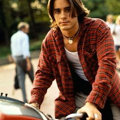 Oh Jordan Catalano.....How I loved you in highschool.- My so called life
