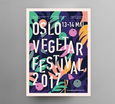 "Check out this @Behance project: ""Oslo Vegetarfestival"" https://www.behance.net/gallery/36720391/Oslo-Vegetarfestival"