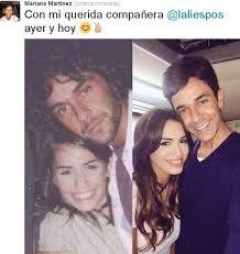"""Mariano Martines y Mariana """"Lali"""" Esposito antes y hoy"""