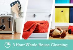 30-Minute Cleaning Guides for Every Room in Your Home