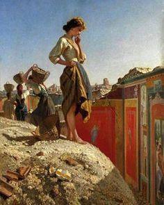 "727 mentions J'aime, 6 commentaires - Ancient History Encyclopedia (@ahencyclopedia) sur Instagram : ""The Excavation of #Pompeii by Filippo Palizzi (1818-1899)."""