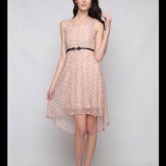 Hi- Lo Lace Dress Hi-Lo lace dress. I love this dress. I have one myself. Ya Losangeles Dresses