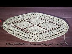 Hilda Bee Artesanato: Tapete losango em croche