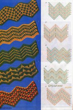 TRICO y CROCHET-madona-mía: Gráficos de Crochet en Colores,