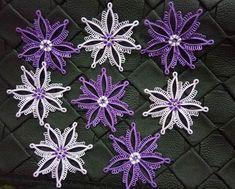 Tatting Necklace, Tatting Jewelry, Lace Jewelry, Needle Tatting, Tatting Lace, Needle Lace, Creative Embroidery, Tatting Patterns, Crochet Flowers