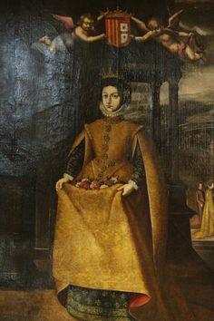 Saint Elizabeth of Aragon History Of Portugal, Spain And Portugal, Aragon, Kingdom Of Navarre, Spanish Dress, Royal Blood, Spanish Fashion, Renaissance Fashion, My Heritage