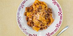 Bolognese and the Bean Recipe by Michela Chiappa from Michela's Tuscan Kitchen