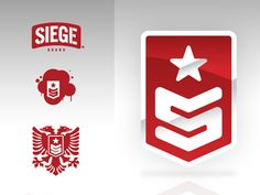 SIEGE Identity by Jared Fitch | Branding | Logo
