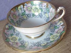 Vintage Royal Grafton bone china tea cup set