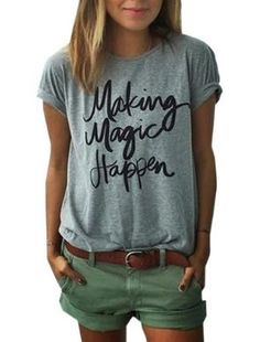 Making Magic Happen T Shirt. Find yours here: https://ecolo-luca.com/products/making-magic-happen-t-shirt?variant=27257626627
