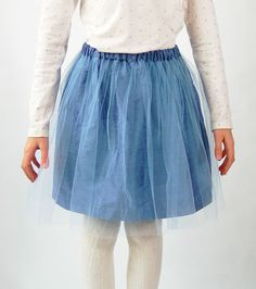 Oliver + S Onstage Tutu Skirt Free Sewing Pattern