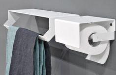 bathroom accessories wall hung wall mo towel bar  toilet paper holder : LINO ANTONIO LUPI -