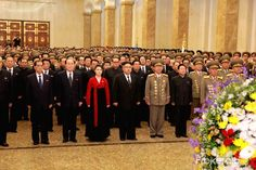Kim Jong Un, Chairman of the Workers' Party of Korea, Chairman of the State Affairs Commission of the DPRK and Supreme Commander of the Korean People's Army, together with Ri Sol Ju, visited the Kumsusan Political Leaders, Politics, Workers Party, Korean People, 2017 Photos, Bridesmaid Dresses, Wedding Dresses, Affair, Palace
