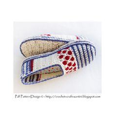 Ravelry: CROCHET SOLES + Sole-treatment - Tailored Method pattern by Sophie and Me-Ingunn Santini