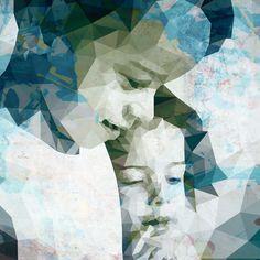 Driehoekportret - Een bijzonder digitaal portret van jouw foto