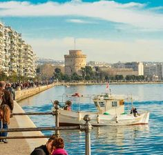 Θεσσαλονίκη / Thessaloniki Places Around The World, Travel Around The World, Around The Worlds, Crete Greece, Greece Thessaloniki, Greece Pictures, Future City, Macedonia, Mykonos