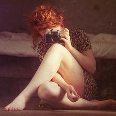 Ginger takin' yo picture.