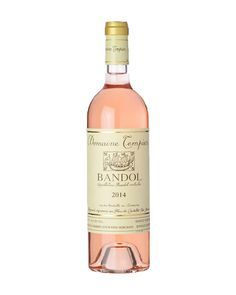 Aromas of peach and pomegranate in this Domaine Tempier Bandol Rosé make it a friend of salads and seafoods.