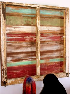 Distressed paint finish - multiple colors