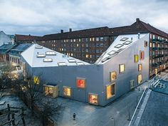Cultural Centre for Children in Copenhagen | DETAIL inspiration